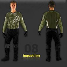Jersey Impact Verde Talle S Acerbis 10905130062