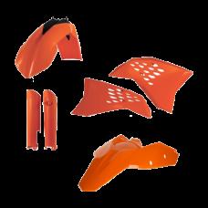 Full Kit Plastico Exc 200811 Naranja Acerbis 14219010