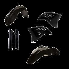 Full Kit Plastico Exc 200811 Negro Acerbis 14219090