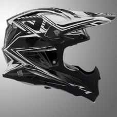 Casco Motocross Impact Bombshell Negro Xxl Acerbis 17073090069