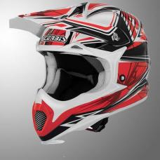 Casco Motocross Impact Bombshell Rojo L Acerbis 17073110066