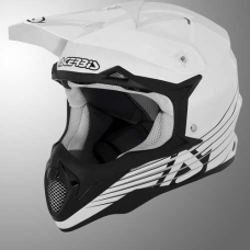 Casco Motocross Impact Full Blanco Xxl Acerbis 17075030069