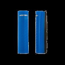 Cubre Barrales De Goma Con Acabado De Efecto Carbono Azul Acerbis 21750040