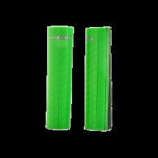 Cubre Barrales De Goma Con Acabado De Efecto Carbono Verde Acerbis 21750130