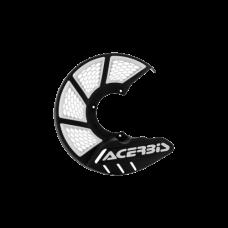 Cubre Disco X Brake Vented 245 Mm Negro Blanco Acerbis 22264315