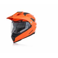 Casco Motocross Flip Fs 606 Naranja Fluo S Acerbis 22310014062