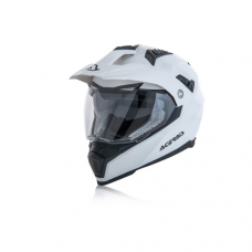 Casco Motocross Flip Fs 606 Blanco S Acerbis 22310030062