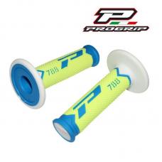 Grip Cross 788 Extra Slim Fluo Celeste Fluor Amarillo Blanco Progrip 788.Cel-Fla-Bla