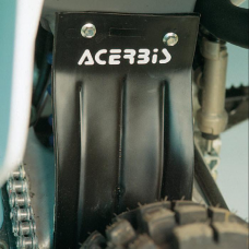 Cobertor Trasero Mud Flap Universal Negro Acerbis 8320090