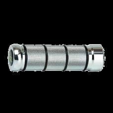 Grip Custom Aluminio Cromo 2225 Progrip 864.Alum