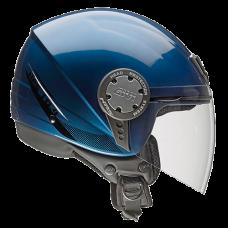 Casco 104 Solid Azul Metalizado Xs Givi H104Fslbl54