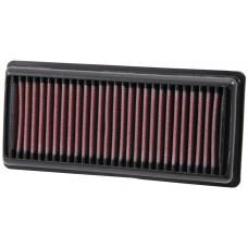filtro de aire ba-2012 k&n bajaj 200 ns 200 2013 al 2017