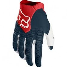 Guantes Motocross Fox Pawtector Glove Azul Rojo