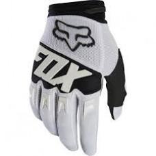 Guantes Motocross Fox Dirtpaw Race Glove Blanco