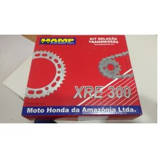 Kit Transmision Honda Xre300 Original Con Cadena H0640-Kwt-900