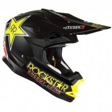 Casco Motocross Enduro Just1 J32 Rockstar Negro