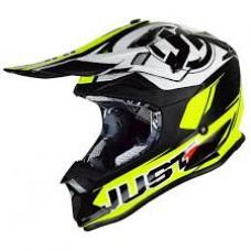 Casco Motocross Enduro Just1 J32 Pro Rave Amarillo