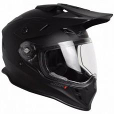Casco Motocross Enduro Just1 J34 Solid Negro Mate