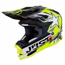 Casco Motocross Enduro Just1 J32 Pro Motostar Amarillo