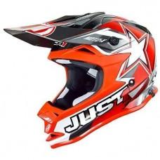 Casco Motocross Enduro Just1 J32 Pro Motostar Rojo