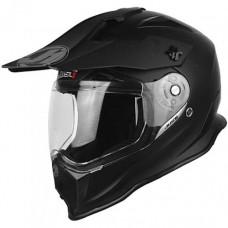 Casco Motocross Enduro Just1 J14 Adventure Negro