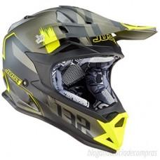 Casco Motocross Enduro Just1 J32 Pro Kick Amarillo Negro