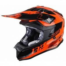 Casco Motocross Enduro Just1 J32 Pro Kick Naranja