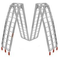 Rampa De Aluminio Plegable Americana Cuatri Atv Moto Top R