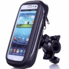 Soporte Funda Porta Gps Celular Moto Bici Impermeable Top R