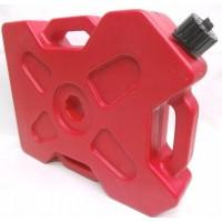 Bidon De Nafta Plano De 8.5 Litros Rojo Top Racing