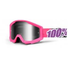 Antiparras 100% Strata Espejada Enduro Motocross Top Racing
