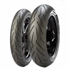 Combo Cubierta Moto Pirelli 110 70 17 y 150 60 17 Diablo Rosso 2 Original