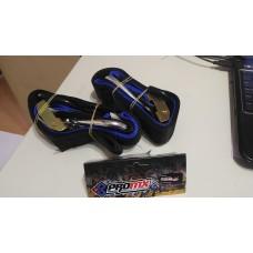 Zunchos Linga De Amarre Moto Pro Mx 2Mts X2 Negro Azul 630052Bu
