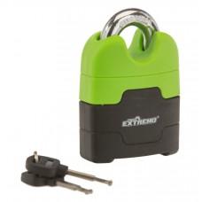 Candado De Seguridad Para Moto Verde 5536-13 Punto Extremo