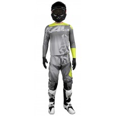 conjunto motocross onix gris radikal 3020