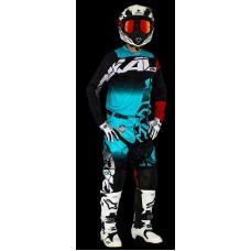 conjunto motocross onix aguamarina radikal 3021