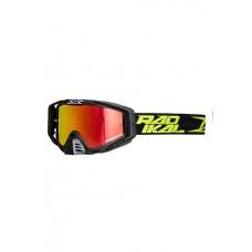 antiparras motocross eks-s rad negro amarillo radikal rad 2