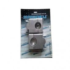Elevadores de manubrio 25 y 47 mm para moto saisoku FEM-001