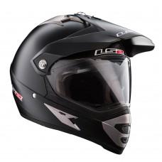 Casco Motocross 433 Single Mono Negro Mate S Ls2 Ls2404335011.S