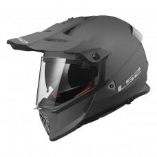 Casco Motocross 436 Pioneer Solid Mate Titan L Ls2 Ls2404361007.L
