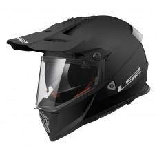 Casco Motocross 436 Pioneer Negro Mate 3Xl Ls2 Original