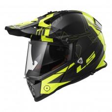 Casco Motocross 436 Pioneer Trig Blanco Hi Vi Y 3X Ls2 Original