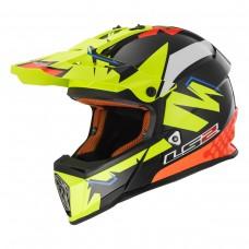 Casco Motocross 437 Fast Volt Bl Ye Naranja L Ls2 Ls2404379954.L