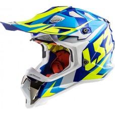 Casco Ls2 470 Subverter Nimble Moto Motocross Negro Original