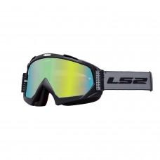 Antiparras Motocross Dots Negro Ls2 Ls2630511502.01