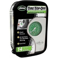 Inflador Compresor Portatil Slime Auto Moto Bici Cuatri 12 V