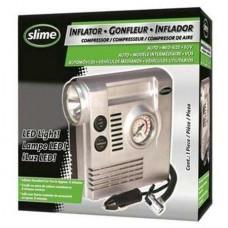 Compresor Portatil De 12V Con Medidor Y Linterna Slime 42004