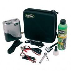 Compresor Para Moto Con Accesorios Y Sellante Slime 50025