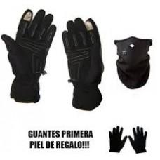 Guantes Moto Impermeables Termicos Tactil+Mascara+Gte Regalo